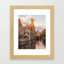 Classic Bruges Framed Art Print