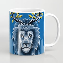 Deer Lion Coffee Mug