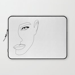 Face Shadow Laptop Sleeve
