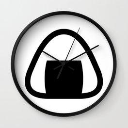 Onigiri Icon Wall Clock