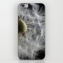 Dandelion Frost iPhone Skin