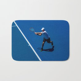 Tennis player Bath Mat