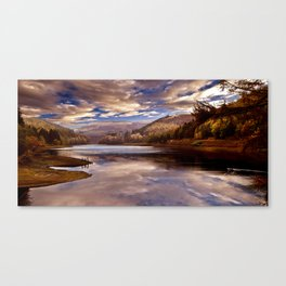 Big Sky over the Valley Canvas Print
