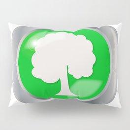 Oak Tree Button Pillow Sham