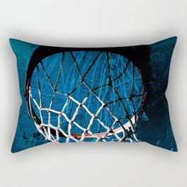 Modern basketball art print cx 2 Rectangular Pillow