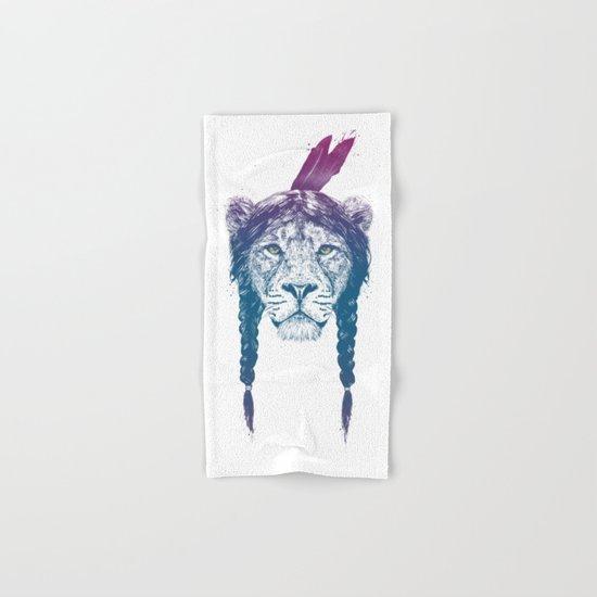 Warrior lion II Hand & Bath Towel