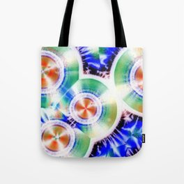 Happy Vitamin C Crystals in Sunlight Tote Bag