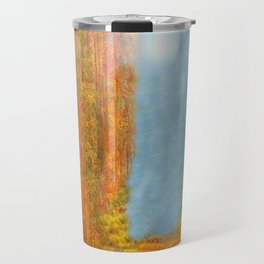Colorful Woodlands Travel Mug