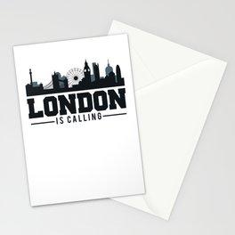 Awesome London Is Calling Skyline UK Stationery Cards
