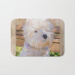 Dog Art - Just One Look Bath Mat