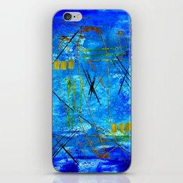 I got the blues iPhone Skin