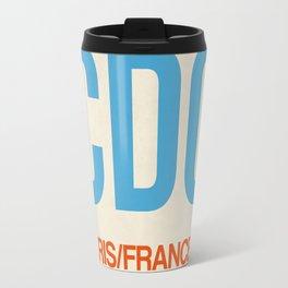CDG Paris Luggage Tag 2 Travel Mug
