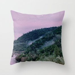 Barbie Forest Throw Pillow
