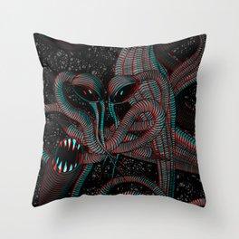 Achluophobia Throw Pillow