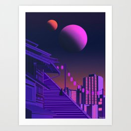 Vivid Dream Art Print