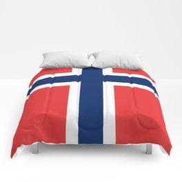 Norwegian Flag Comforters