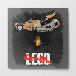 Everything is Awesome in Neo Tokyo Metal Print