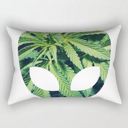 Alien Weed Rectangular Pillow