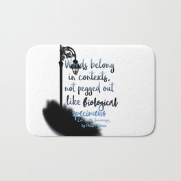 Words | La Belle Sauvage Bath Mat