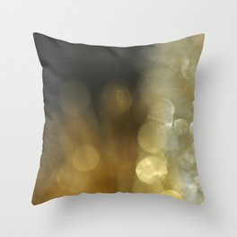 Gold and Silve #2 Throw Pillow