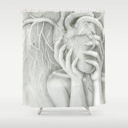 follow your heart Shower Curtain