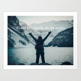 Bless the Lord Art Print
