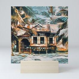 Malay House Mini Art Print