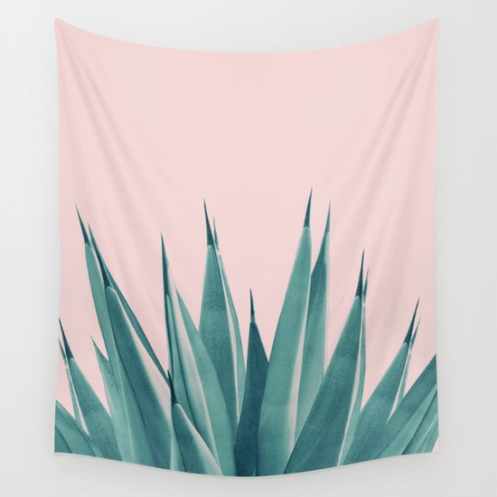 Blush Agave Dream #1 #tropical #decor #art #society6 by anitabellajantz