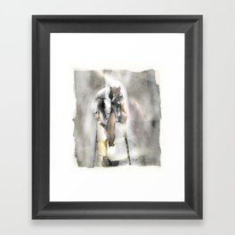 Getting By Framed Art Print