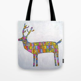 Deer-words Tote Bag