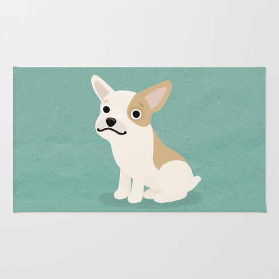 Frenchie - Cute Dog Series Rug