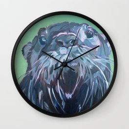 Gramm the Otter Wall Clock