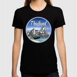 Tropical Beach Thailand T-shirt