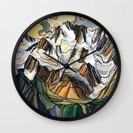 Earl Grey Pass :: Single Line Wall Clock