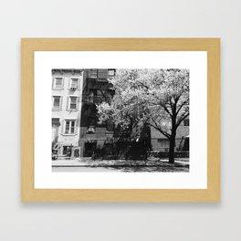 New York in Spring Framed Art Print