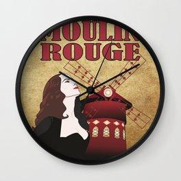 Le Moulin Wall Clock