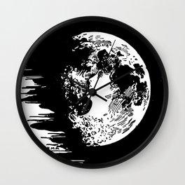 Miss Moon Wall Clock