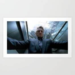 Sean Penn in the film The Tree of Life (Terrence Malick - 2011) Art Print
