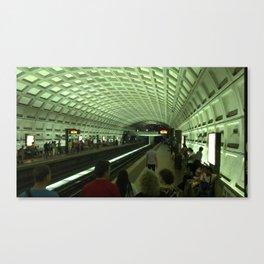 DC train Canvas Print