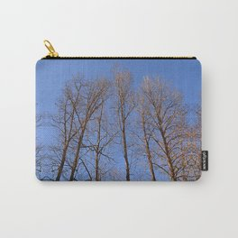 late fall, looking up Carry-All Pouch