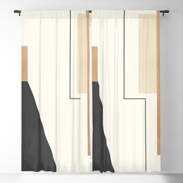 Geometric Abstract 81 Blackout Curtain