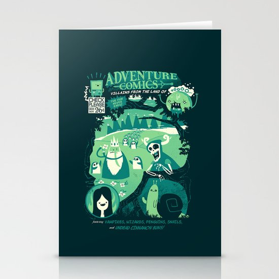 Adventure Comics Stationery Cards