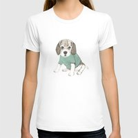 puppy T-shirts featuring puppy by maria elina