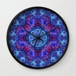 Shiva Blue Mandala Wall Clock