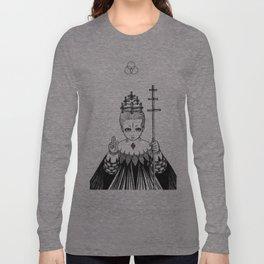 Major Arcana V The Hierophant Long Sleeve T-shirt