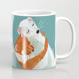 Weasel hugs Coffee Mug