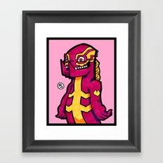stripezilla Framed Art Print
