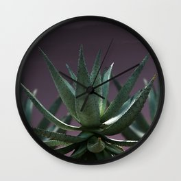 Aloe Aloe Aloe Wall Clock