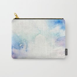 Colored Sky Watercolor Painting Carry-All Pouch