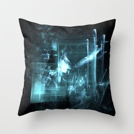 Shattered Glass Throw Pillow